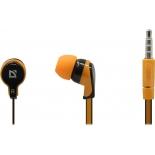 гарнитура проводная для телефона Defender Pulse-450, оранжево-черная
