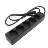 сетевой фильтр 5bites SP5-B-10U, черный