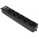 сетевой фильтр 3Cott 3C-SP1005B-5.0, черный