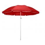 зонт садовый Торг-Хаус, (d 220 см) красный