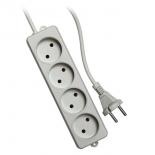 удлинитель электрический Гарнизон EL-NL4-W-2, белый