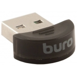 адаптер Bluetooth Buro BU-BT30 черный
