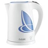чайник электрический BBK EK1803P белый/голубой