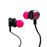 гарнитура для телефона MONSTER Clarity HD High Definition In-Ear, розовый неон