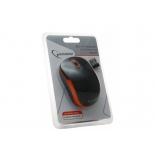 мышка Gembird MUSW-200 Black-Orange USB, черно-оранжевая