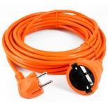 кабель (шнур) Power Cube PC-EG1-B-10, удлинитель (6 А, 1 розетка), 10 м