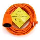 кабель (шнур) Power Cube PC-L1-B-10, удлинитель (10 А, 1 розетка), 10 м