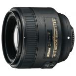 объектив для фото Nikon 85 mm f/1.8G AF-S Nikkor