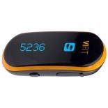 фитнес-браслет Medisana ViFit Connect, черный/оранжевый
