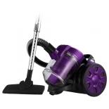 Пылесос Home Element HE-VC1801, черный/фиолетовый