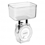 кухонные весы Lumme LU-1301, белый жемчуг