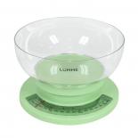 кухонные весы Lumme LU-1303, зеленый нефрит