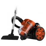 Пылесос Home Element HE-VC1801, черный/оранжевый