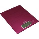 кухонные весы Lumme LU-1318, красный рубин