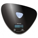 кухонные весы Marta MT-1632, черные/блестящие