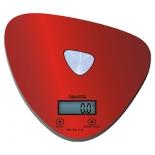 кухонные весы Marta MT-1632, красные/блестящие