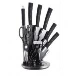ножи (набор) Kelli KL-2130 (из 9 предметов)