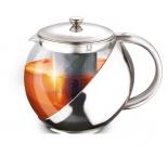 чайник заварочный Lara LR06-10, серебристый