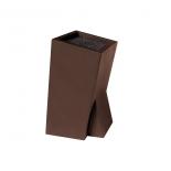 подставка для ножей TimA квадратная (лапша), MS-01A коричневая