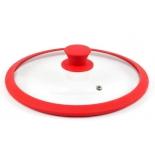 крышка для посуды TimA 4622R, красная