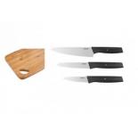 ножи (набор) Rondell Smart RD-655 (набор из 3 ножей и 1 доски)