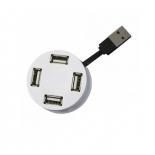 USB-концентратор Perfeo (PF-VI-H025) 4 Port белый