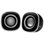 компьютерная акустика BBK CA-301S, черная/металлик
