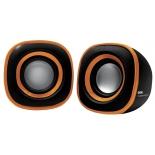 компьютерная акустика BBK CA-301S, черно-оранжевая