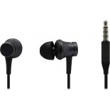 гарнитура проводная для телефона Xiaomi Mi In-Ear Headphones Basic, черная