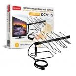 антенна телевизионная D-Color DCA-115, черная