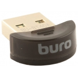 адаптер Bluetooth Buro BU-BT40A черный