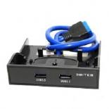 USB-концентратор 5bites FP183P, черный