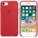 чехол iphone Apple для iPhone 8/7 Silicone Case MQGP2ZM/A, красный