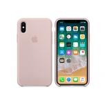 чехол iphone Apple для iPhone X Silicone Case (MQT62ZM/A), розовый песок