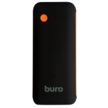 аксессуар для телефона Мобильный аккумулятор Buro RC-5000BO 5000mAh, черно-оранжевый
