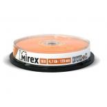 оптический диск Mirex DVD+R 4.7 Gb, Cake Box (10 шт)
