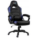 игровое компьютерное кресло Aerocool AC80C-BB, черно-синее
