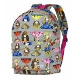 рюкзак городской Nosimoe 8302-03 (девочки), серый