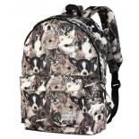 рюкзак городской Nosimoe 8302-03 (зверята), коричневый