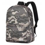 рюкзак городской Nosimoe 7308-01 (милитари), бежевый
