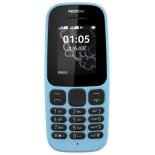сотовый телефон Nokia 105 Dual SIM TA-1034 2017 голубой