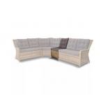 диван 4SiSа Бергам плетеный центральный модуль дивана