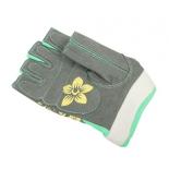 перчатки для фитнеса Starfit SU-112 (размер: XS), серо-мятно-желтые