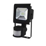 прожектор ЭРА LPR-10-6500К-М-SEN SMD Pro, светодиодный, черный