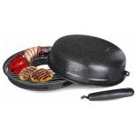 сковорода Kelli KL-115 (32 см), черная