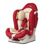 автокресло детское Liko Baby LB-510, красное в точку