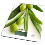 кухонные весы Marta MT-1634 олива