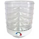 сушилка для овощей и фруктов Спектр-Прибор Ветерок-2, 5 поддонов, прозрачный пластик (в гофротаре)