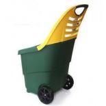 тележка садовая Helex H808, зелено-желтая