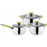 набор посуды для готовки Mercury MC-6000 (из 6 предметов)